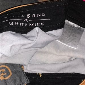 Billabong Swim - Billabong White Mike Recycler Series Board Shorts